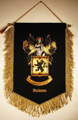 Hand-stitched Coat of Arms/ Family Crest Embroideries