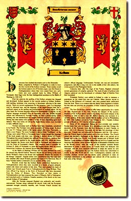 Coat of Arms/ Family Crest Prints